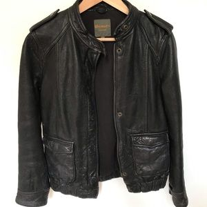 Madewell Wearmaster Outerwear Leather Jacket